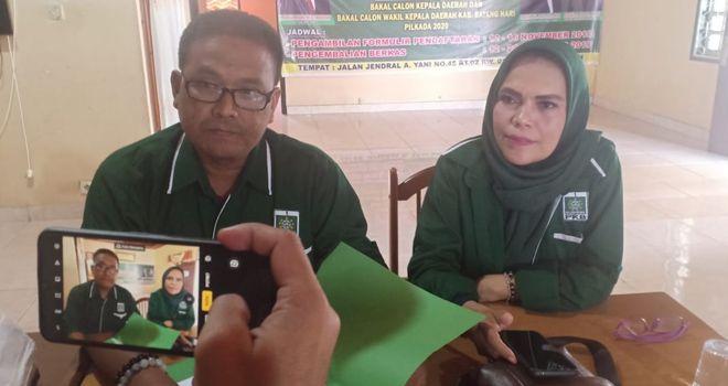 Ketua Desk Pilkada DPC PKB Kabupaten Batanghari Abdul Fahri,A.Md saat dikonfirmasi.
