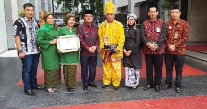Tanjabtim Terima Penganugerahan Swasti Saba Kabupaten Sehat.