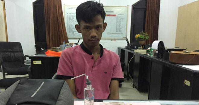 AM, diperiksa Tim Ditrektorat Reserse Narkoba Polda Jambi.