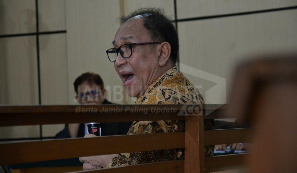 Terdakwa suap uang ketok palu RAPBD Provinsi Jambi 2018 Joe Fandy Yoesman alias Asiang.