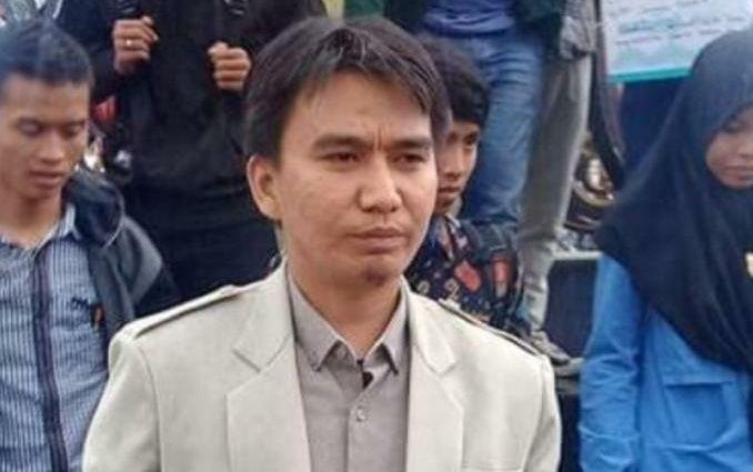 Heri Kusnadi yang terpilih sebagai Pimpinan Wilayah Pemuda Muhammadiyah Jambi.