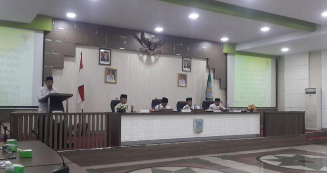 Pelaksana fardu kifayah, guru ngaji non PAMI, serta pegawai syarak di Kota Jambi, Rabu (4/11).