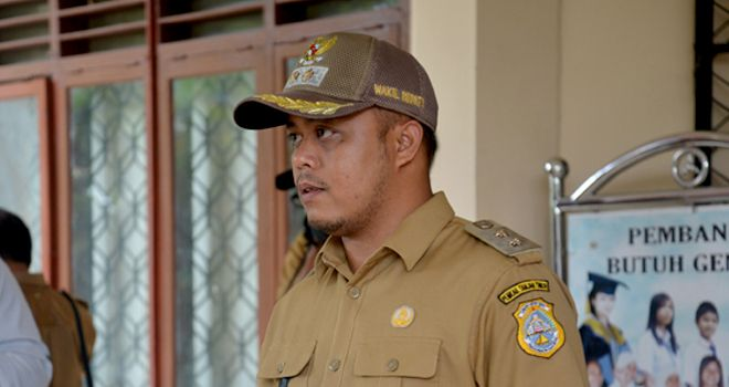 Wakil Bupati Tanjabtim, H. Robby Nahliyansyah.