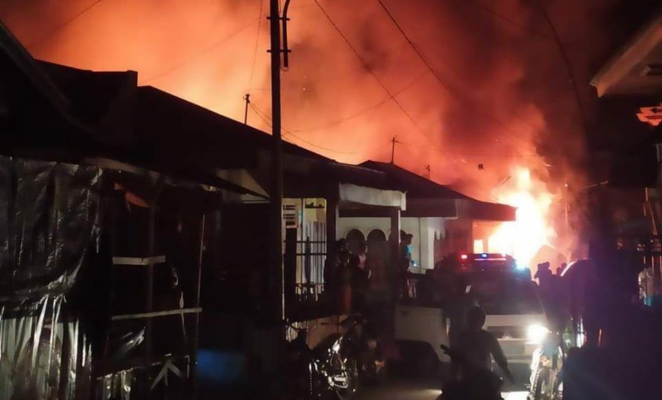 Kebakarab di Kerinci.