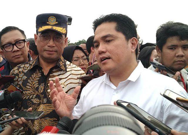 Menteri BUMN Erick Tohir mengisyaratkan akan mengubah total direksi Garuda jika ditemukan itikad tidak baik.