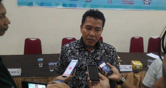 Apnizal, Komisioner KPU Provinsi Jambi.