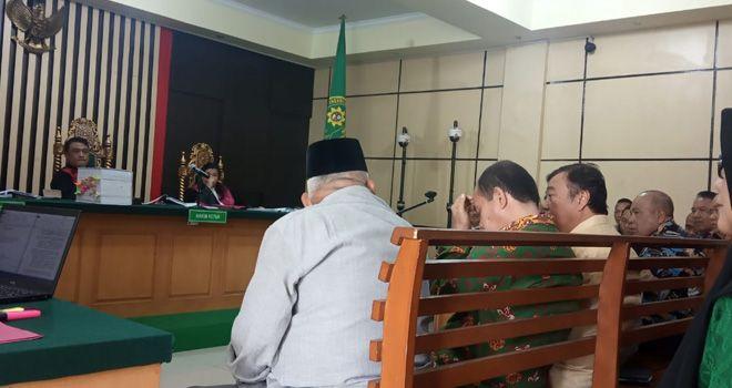 Kesaksian Tajudin Hasan, dia kembali membeberkan jika pada pengangaran, pada Sebelum pengesahan, pria yang akrab disapa Pak Muk itu sempat melakukan rapat dengan SKPD untuk masalah RAPBD Jambi.