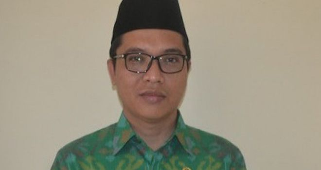Anggota Komisi II dari fraksi Partai Persatuan Pembangunan (PPP), Ahmad Baidowi.