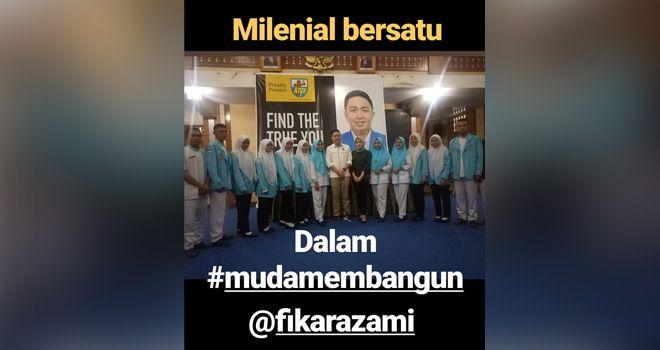 Dukungan ini, terlihat dari sejumlah foto yang beredar di media social (Medsos) beberapa hari yang lalu. Dimana dalam foto itu Ferry Satria bersama sejumlah tokoh muda terlihat bersama Fikar Azami dengan posisi tangan terkepal.