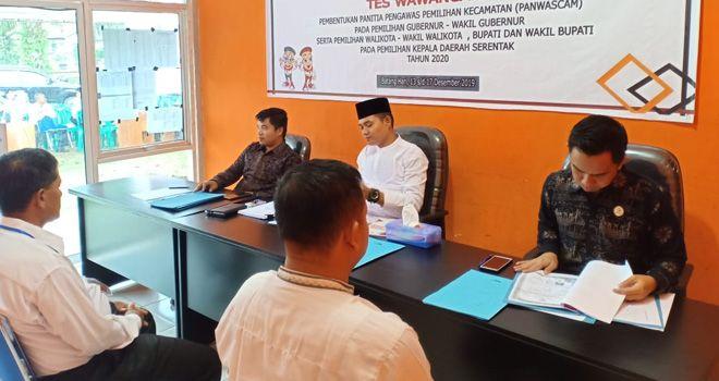 Badan Pengawas Pemilihan Umum (Bawaslu) Kabupaten Batanghari menerima laporan tanggapan dari masyarakat.