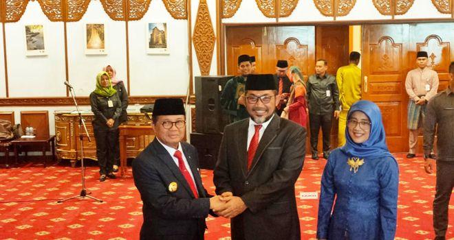 Gubernur Jambi Fachrori Umar, Jelang pelantikan dan pengambilan sumpah jabatan pejabat eselon III dan IV Pemprov Jambi, (7/1).