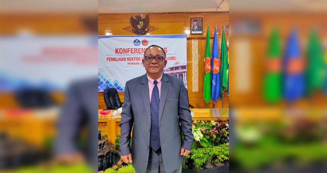 Prof.Sutrisno, Dalam keterangannya kepada awak media guru besar Fakultas Saintek Unja ini mengatakan akan menjalankan program yang tertuang dalam visi misinya.