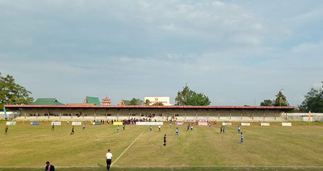 Pertandingan kedua Gubernur Cup 2020 sore ini (8/1), di stadion Tri Lomba Juang KONI Jambi, mempertemukan PS Batanghari kontra PS Kerinci, berlangsung sengit.