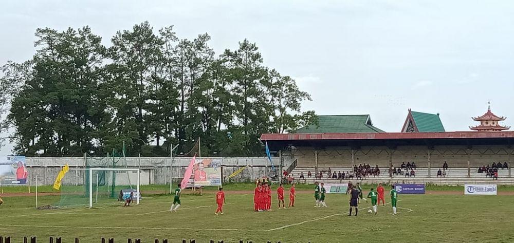 Kota Jambi Unggul 1-0 Atas Tanjabbar.