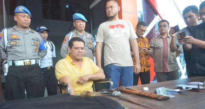 Bripka Eko Sudarsono, pelaku pembekingan illegal drilling.