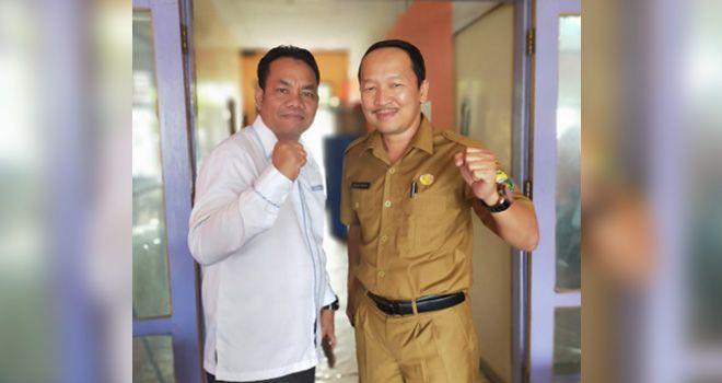 Sudirman Pimpin Tim Bidding Muaro Jambi Sebagai Calon Tuan Rumah Porprov 2022.