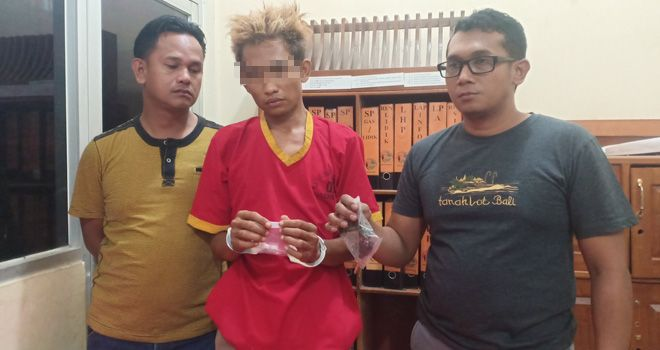 Kepolisian Resort Polres Batanghari melalui Satresnarkoba berhasil meringkus Winggy Sandra alias Wingki (30).