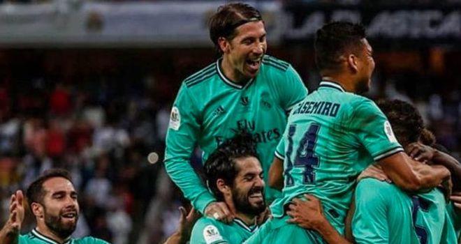 Pemain Real Madrid, sergio ramos.