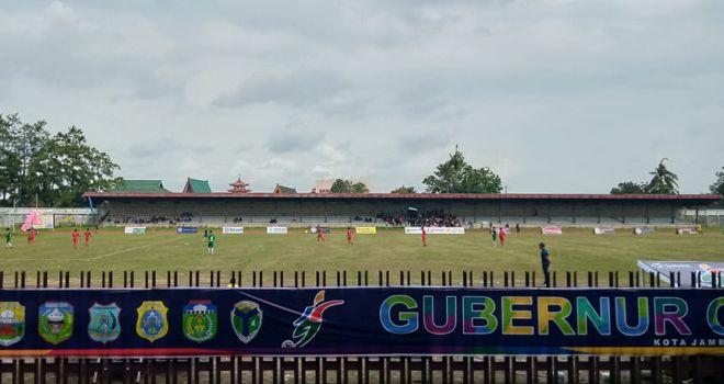 Turnamen sepakbola Gubernur Cup Jambi 2020.