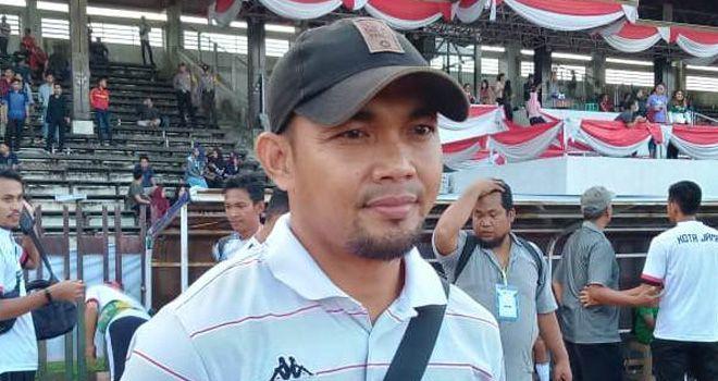 Pelatih PS Kota Jambi Octavianus.