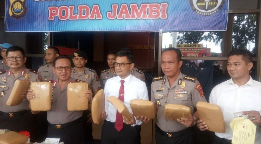 Pers Release Kapolda Jambi.