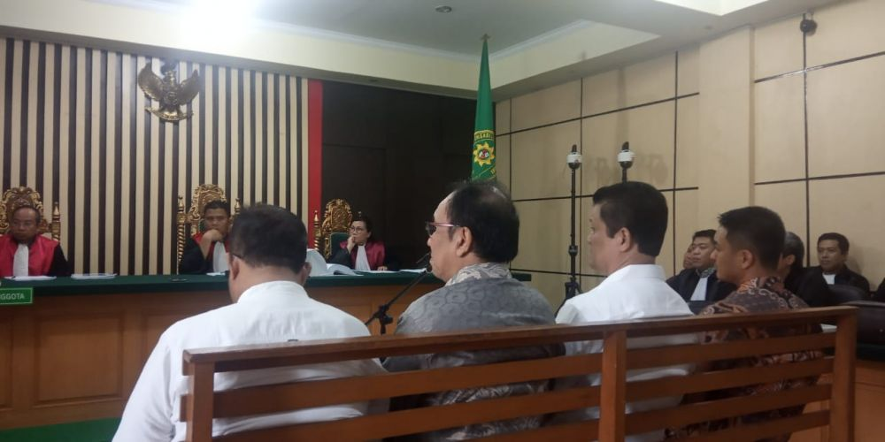 Sidang lanjutan perkara suap uang ketok palu RAPBD Provinsi Jambi 2017-2018, kembali digelar Kamis (23/1) di pengadilan Tipikor Jambi.