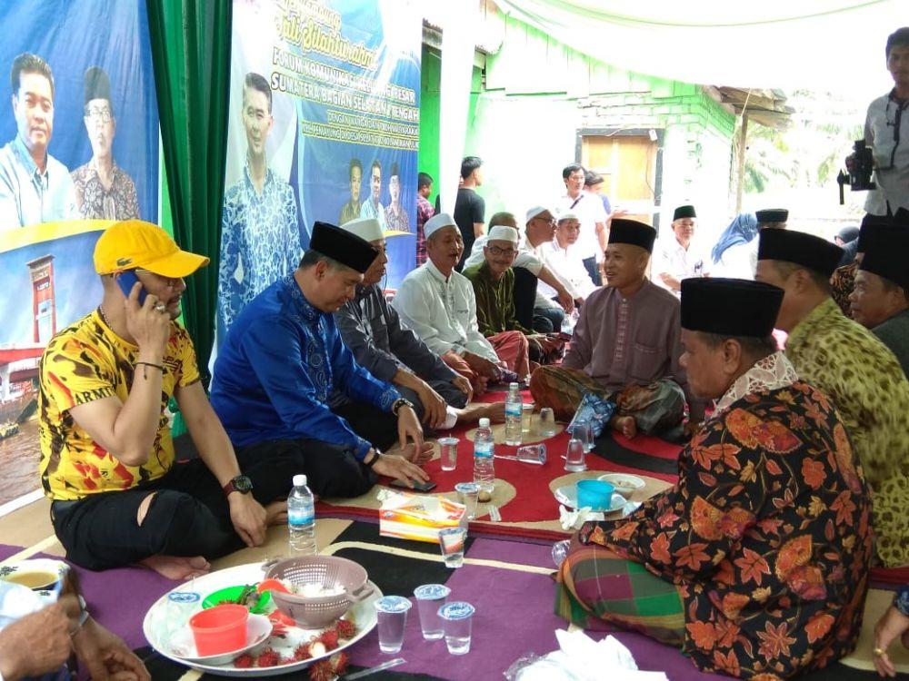 Warga Sekecamatan Pemayung Siap menangkan Fasha Jadi gubernur.