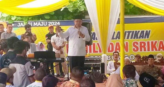 Bakal Calon Gubernur Jambi Periode Cek Endra resmi (CE) mengkukuhkan Tim Family dan Srikandi Wilayah Bungo. Kegiatan dilakukan di kediaman Bambang Hermanto di Sungai Binjai Kecamatan Bhatin III, Minggu (26/1).
