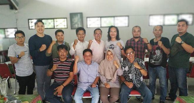 Serikat Media Sibier Indonesia (SMSI) Provinsi Jambi, menggelar rapat Pleno Kamis siang (13/2).
