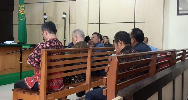 Sidang uang ketok palu RAPBD Provinsi Jambi 2017-2018 kembali di gelar, Kamis (13/2).
