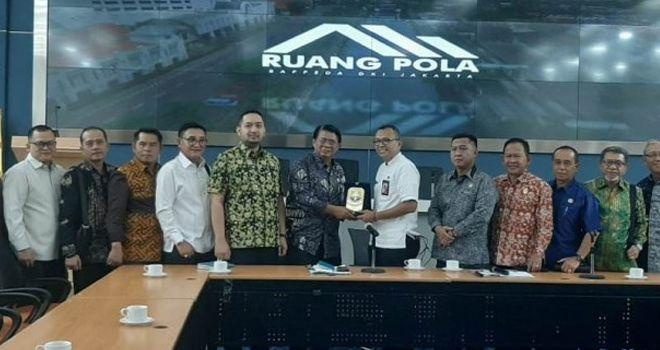Banggar DPRD Studi Banding ke Bappeda DKI Jakarta.