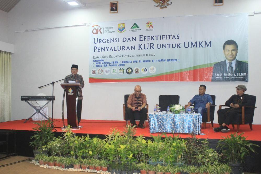 Gubernur Jambi Fachrori Umar.