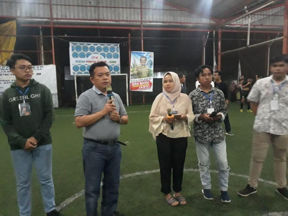 Al Haris Tutup Turnamen Futsal Lintas Organisasi Mahasiswa, Pelajar Kerinci dan Sungai Penuh.