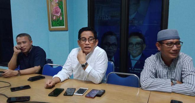 Pertemuan bersama pengurus DPW PAN Provinsi Jambi.