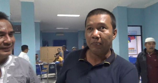 Kandidat petahana Pilbup Tanjung Jabung Timur, Romi Hariyanto.
