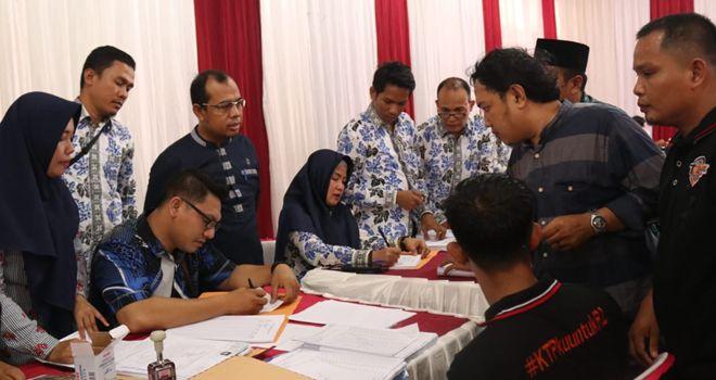 Komisi Pemilihan Umum (KPU) Tanjung Jabung Timur (Tanjabtim) telah merampungkan verifikasi dokumen dukungan calon perseorangan pasangan Romi Hariyanto-Robby Nahliansyah.