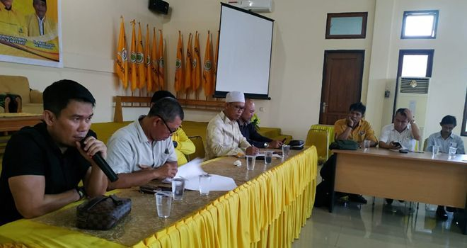 A. Rahman, SC Panitia Musda DPD I Golkar Jambi.