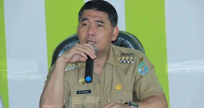 Walikota Jambi Syarif Fasha,