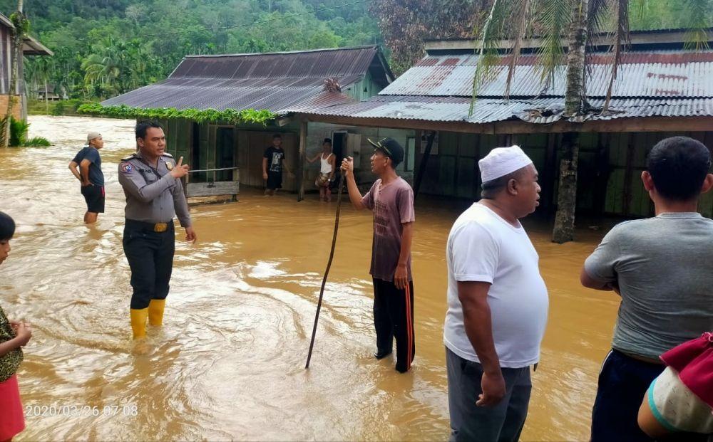 Tiga Desa di Batangasai Terendam Banjir.