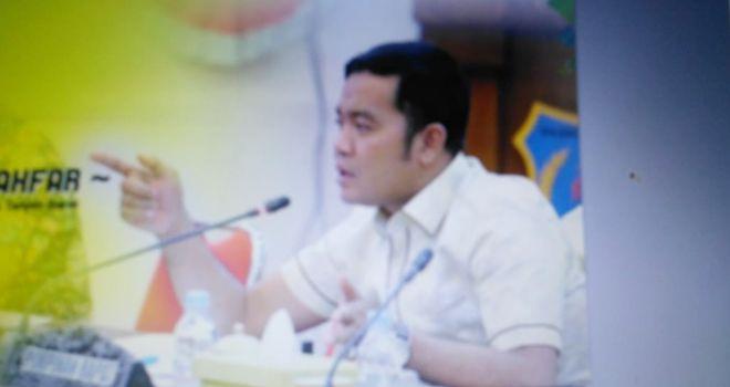 Wakil ketua DPRD Tanjabbar, Ahmad Jahfar.