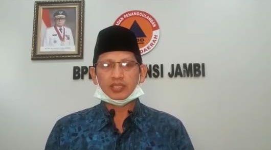 Jubir Penanganan Covid19 Jambi, Johansyah.