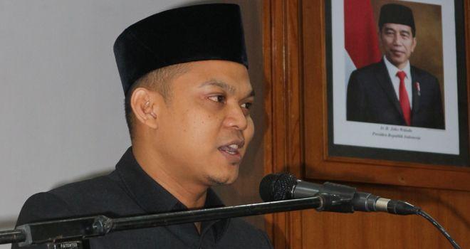 Ketua DPRD Muaro Jambi Yuli Setia Bakti.