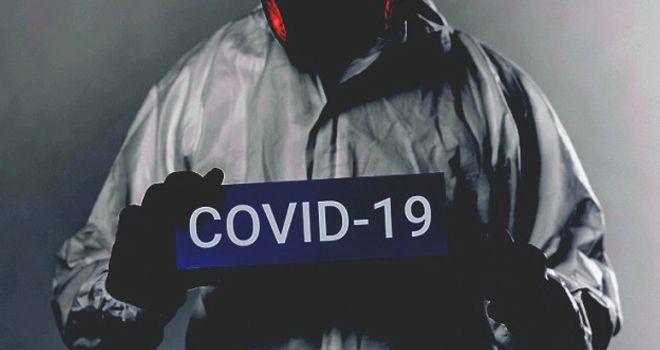 Ilustrasi Covid-19.