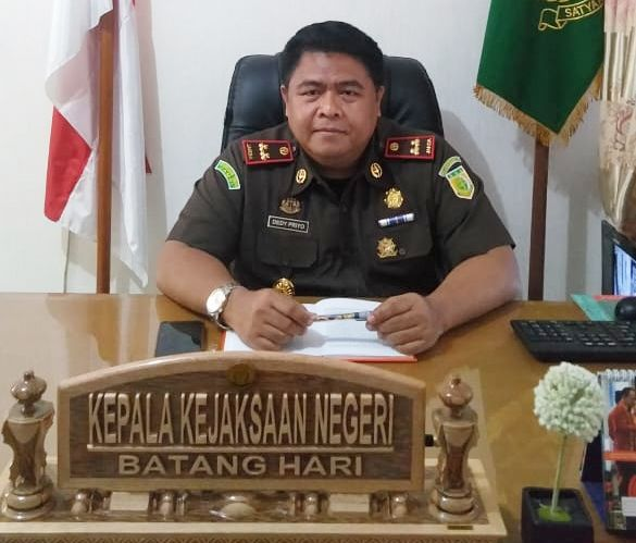 Kepala Kejaksaan Negeri Batanghari Dedi Priyo Handoyo.