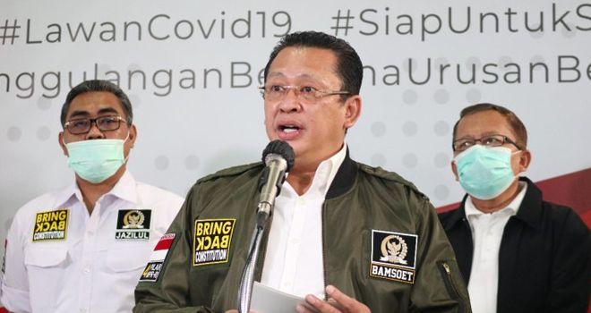Ketua Majelis Permusyawaratan Rakyat (MPR) RI H Bambang Soesatyo.