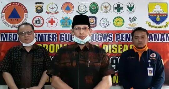 Juru bicara gugus tugas penanganan Covid19 Provinsi Jambi Johansyah.