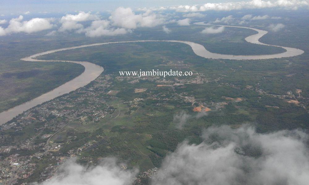 Ilustrasi Sungai Batanghari