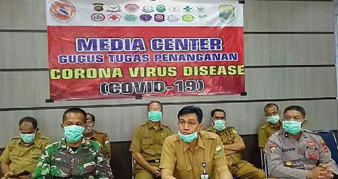 Wakil Ketua Gugus tugas Covid-19 Kabupaten Muarojambi MHD Fadhil Arif.