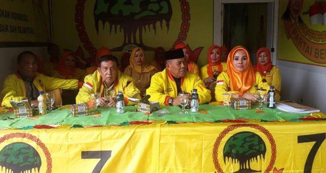 Ketua DPW Berkarya Provinsi Jambi, Ambiar Usman dan Jajaran Pengurus Berkarya, Prov Jambi.