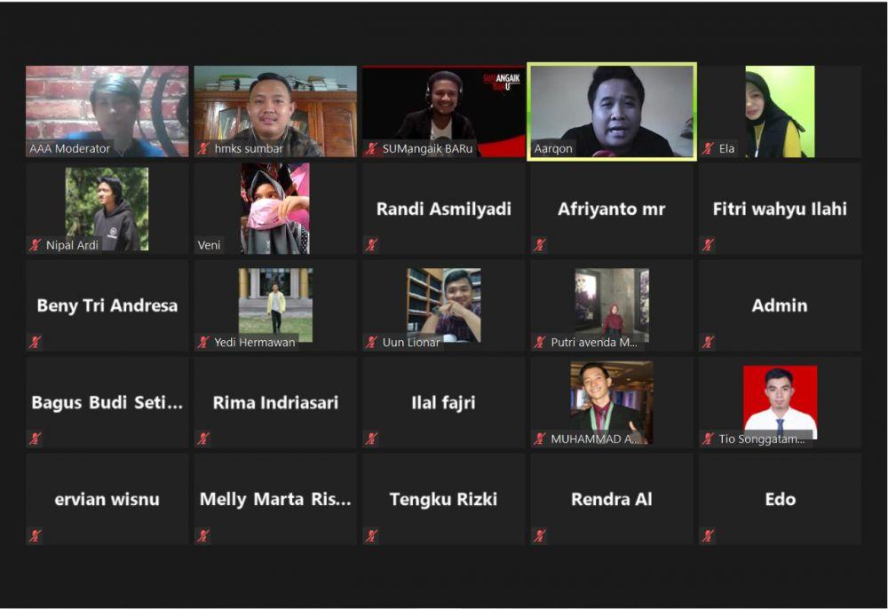 Melalui Zoom Meeting, HMKS Sumbar Gelar Diskusi Online